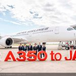 Japan Airlines recibe su primer A350 XWB