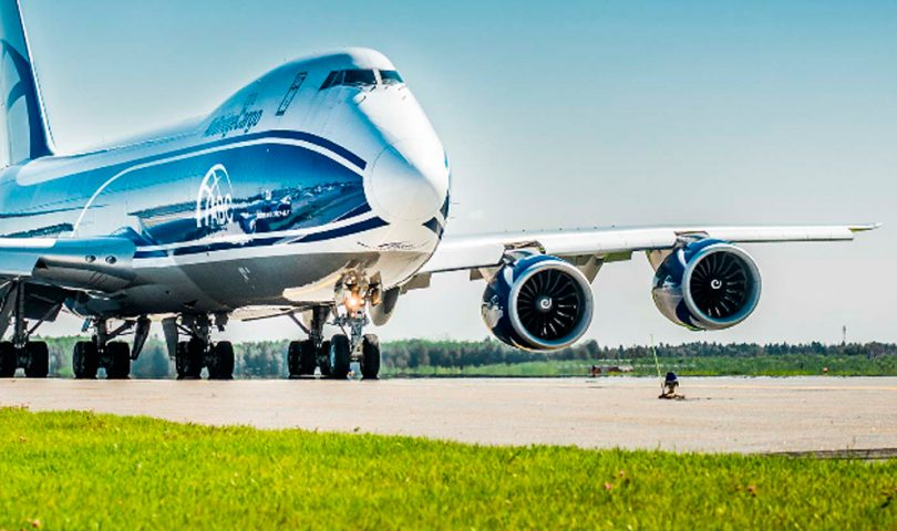 Avion de AirBridge Cargo