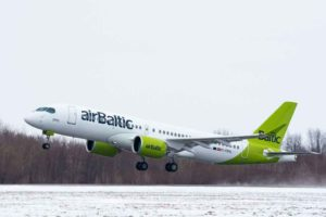 AirBaltic, A220