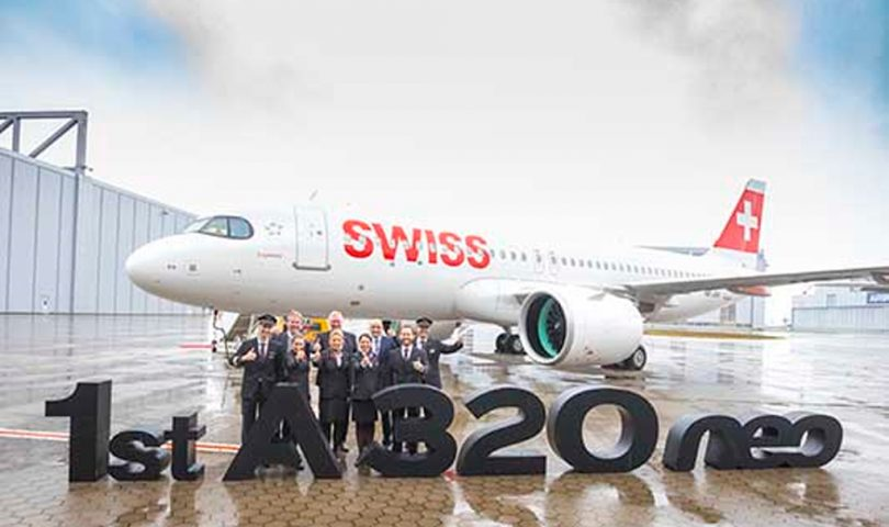 Swiss, A320neo, Airbus