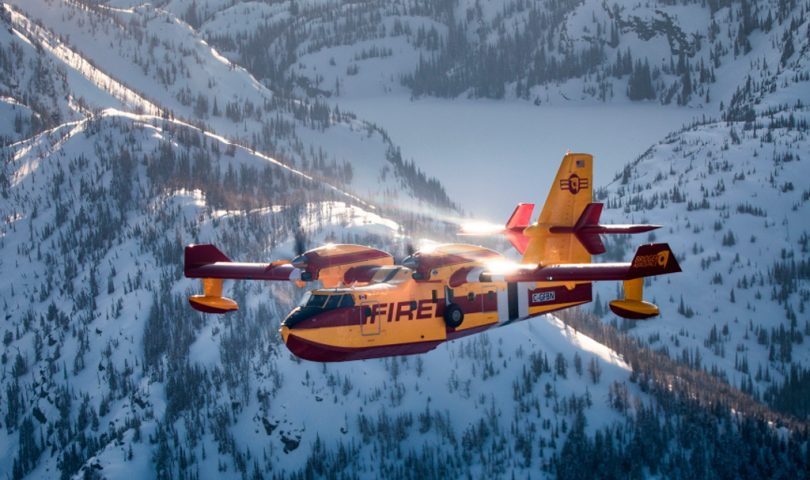 "CL-415EAF ""Enhanced Aerial Firefighter"""